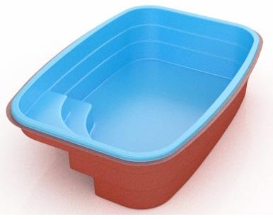 Piscina fibra lider ld 335 por apenas r for Lider piscinas